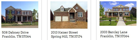 New Homes in Nashville from The Jones Company