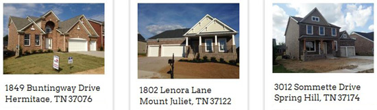 New Homes in Mt Juliet from The Jones Company
