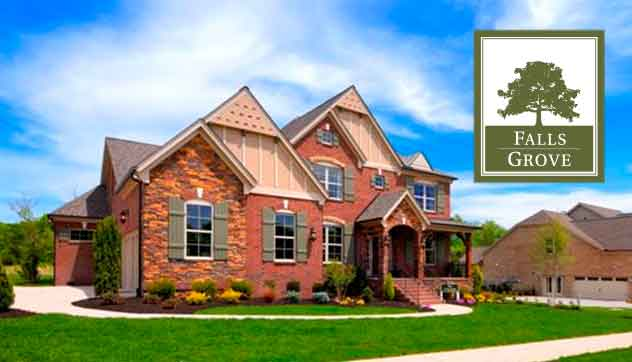 New Model Home at Falls Grove