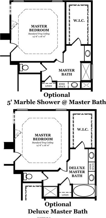 Floorplan - Danbury at Whitney Park Danbury Master Bath ...