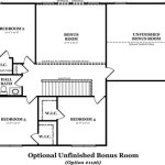 Hickory Optional Unfinished Bonus Room