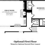 Kingston Optional First Floor