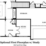 Rutledge Optional First Floor w/Study
