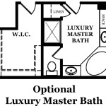 Rutledge Optional Luxury Master Bath