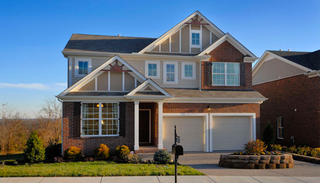 The Durand Model Home at Barnes Bend