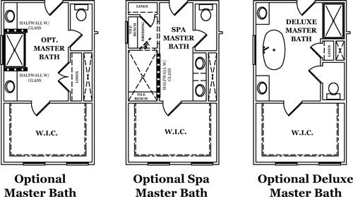 Cavendish Master Bath Options