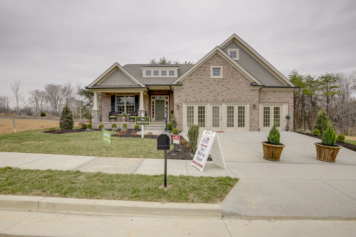 The Drayton Model Home at Travis Trace