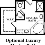 Russell II Optional Luxury Master Bath