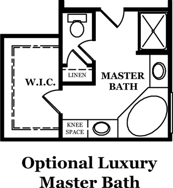 Russell II Optional Master Bath
