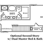 Manchester III Optional Second Story w/Dual Master Bed & Bath