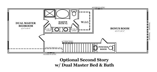 Manchester III Optional Master Bath