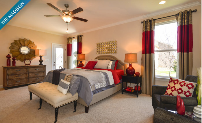 The Madison - Master Suite