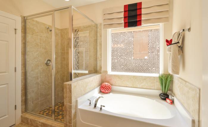 The Madison - Master Bathroom (View 1)
