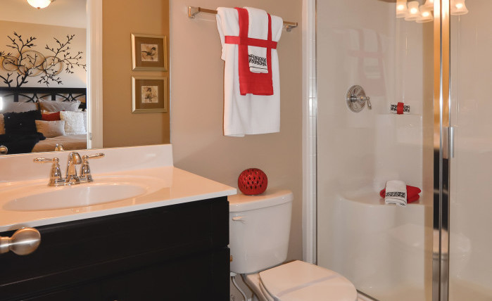 The Madison - Jack & Jill Bathroom (View 2)