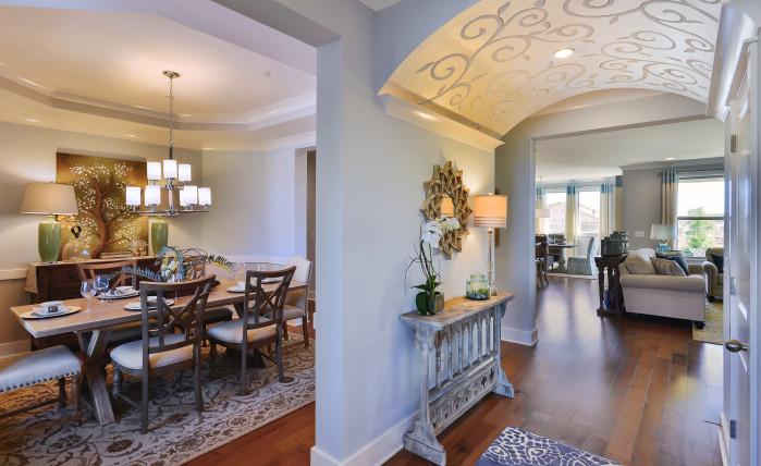 Bradford Model - Foyer/Dining Room