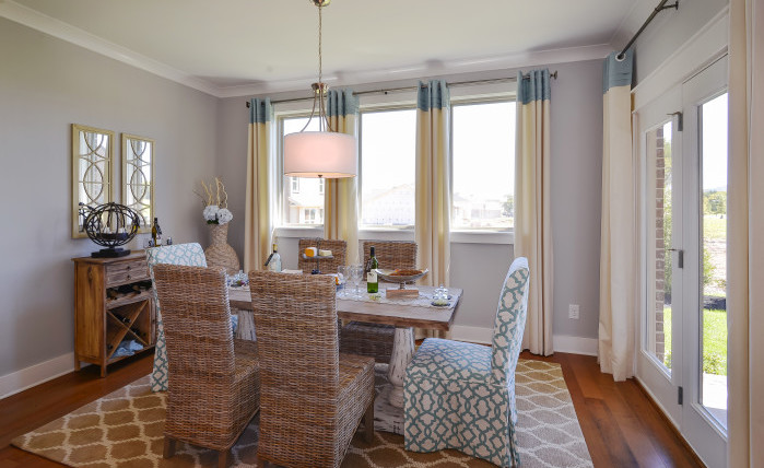 Bradford Model - Breakfast Nook