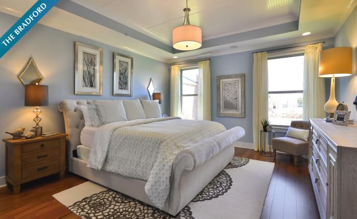 Bradford Model - Master Bedroom