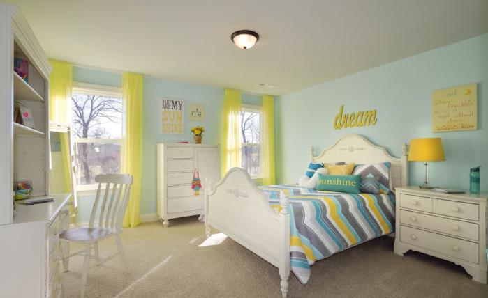 Girls Bedroom - Hickory II - Heartland Reserve