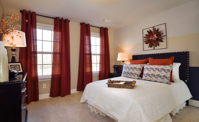 4th Bedroom - Guest Room - Hickory II - Heartland Reserve