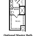 Audubon II Optional Shower at Master Bath