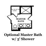 Cole Optional Master Bath