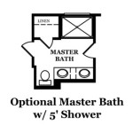 Durand Optional Master Bath
