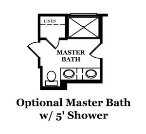 Durand Optional Master Bath