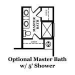 Kensett Optional Master Bath