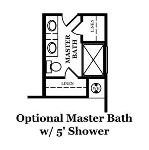 Kensett Optional Third Bath
