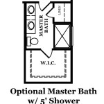 Bierstadt Optional Master Bath
