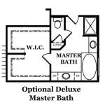 Reston Optional Deluxe Master Bath