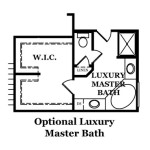 Reston Optional Luxury Master Bath