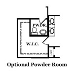 Reston Optional Powder Room