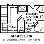 Dover Master Bath with Optional Bonus