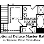 Dover Optional Deluxe Master Bath with Bonus