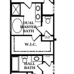 Dover Optional Dual Master Bedroom & Bath