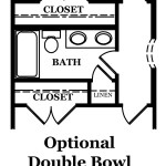 Kent Optional Double Bowl @ Hall Bath