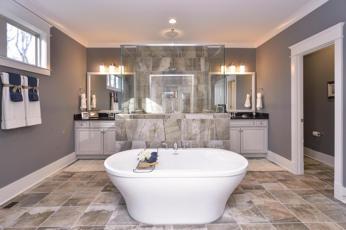 Luxury Master Bath Suites