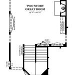 Newcastle II First Floor w/2 Story Great Room