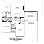 Newcastle II Optional Second Floor w/2 Story