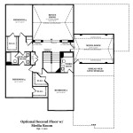 Newcastle II Optional Second Floor w/Media Room