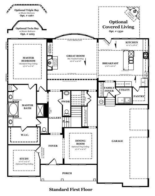 Heartland Homes Stanford Floor Plan