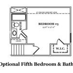 Madison Optional 5th Bedroom & Bath