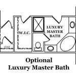Madison Optional Luxury Master Bath