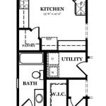 Russell II Optional Bedroom & Bath