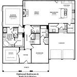 Westchester IV Optional Bedroom & Bath In Lieu of Dining Room