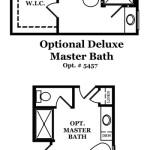 Dover II Master Bath Options