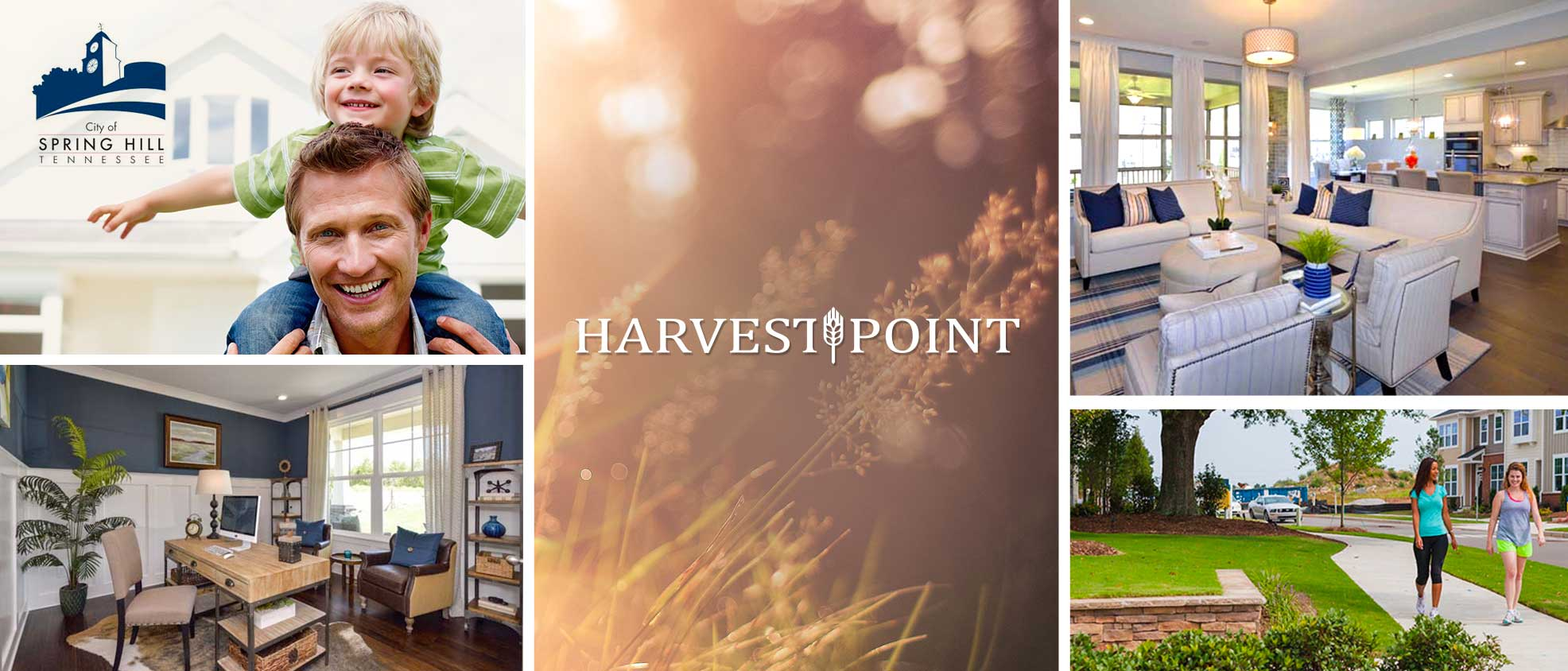 New Homes in Spring Hill at Harvest Point