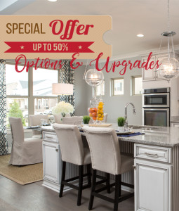 Save 50% Off Options & Upgrades On Your Jones Home