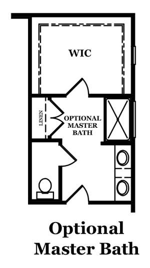 Mayfair Optional Master Bath